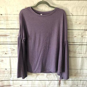 *3/$18*Xhilaration Sleevewear Long Wide Arm Top